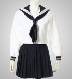 Japanese School Girl Cosplay Black and White Long Sleeves Girls School Uniform Cosplay Costume Sell Online Lady Gaga Halloween Costume, Pink Lady Costume, Animal Halloween Costumes, Japan School Uniform, School Uniform Fashion, School Uniforms, Ladybug Costume, One Piece Cosplay, Cute Asian Girls