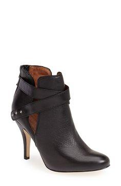 Corso Como 'Stella' Bootie leather black, cognac 3.5h sz7.5 188.95