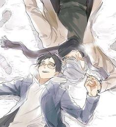 Image de yuri on ice and anime