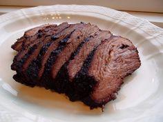 Texas Brisket, brisket, oksespidsbryst, grill, røgning, oksekød, bbq, rub, chili, chilipulver, paprika, spidskommen, peber, ahornsukker, salt, sennepspulver