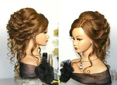 Saloon girl hairstyle. :) | Hairstyles I Love! | Pinterest ...