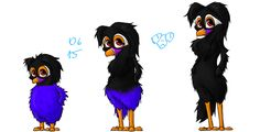 Commission for  Kasia-chanPL- growing Moja by thedalmatiangirl.deviantart.com on @DeviantArt