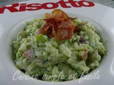 risotto brocolis pancetta