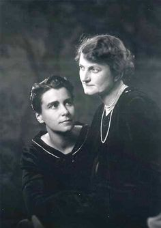 Dorothy Arzner and Marion Morgan