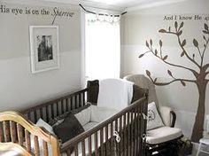 @Beth Nativ Root Chase - horizontal Striped walls, would be cute for LIam's room in your new house.
