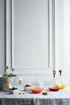 Brunch Bubbles: <br>The Make-Your-Own Mimosa Bar