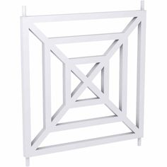 "28""W x 28""H x 1 1/4 P"" Balustrade Square Structural Panel, Smooth - 106.17"