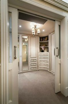 Walk-in closets are one of the most practical divisions in the modern bedroom design | Discover more: http://www.bocadolobo.com