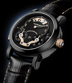 A unique piece for Only Watch 2013 Montblanc the Nicolas Rieussec Rising Hours