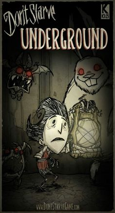 This is the update infomercial for Don't Starve. Analysis in my book. Video Game Art, Video Games, Tim Burton Style, Pokemon, Wilson Art, Afraid Of The Dark, Tabletop Games, Indie Games, Fun Games