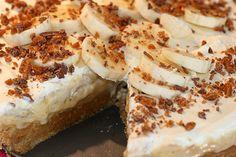banoffee_pie1 Torta Banoffee, Swedish Recipes, Fika, Recipes From Heaven, My Glass, Cheesesteak, I Love Food, Camembert Cheese, Cheesecake