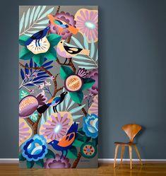 / Botanist / painting by Rogers Pedro / Arte Floral, Painting Inspiration, Art Inspo, Art And Illustration, Bird Art, Flower Art, Art Drawings, Street Art, Art Projects