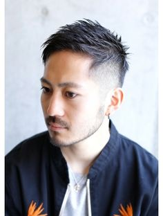 gift*ツーブロックフェードスタイル(遠藤) Cool Haircuts, Haircuts For Men, Boy Hairstyles, Trendy Hairstyles, Crew Cut Fade, Hear Style, Korean Men Hairstyle, Asian Short Hair, Funky Outfits