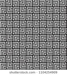 Black and white Jacquard Fairisle Seamless Knitting Pattern Slip Stitch Knitting, Knitting Charts, Knitting Socks, Knitting Stitches, Knitting Patterns, Crochet Patterns, Knitting Blocking, Graph Design, Summer Knitting