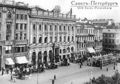 Postcard sent to Australia: Old Saint Petersburg, Russia (swap: How I'd love to be in. Imperial Russia, Slums, Black And White Photography, Old World, Old Photos, Old Things, Louvre, Street View, In This Moment