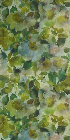 Surimono Moss Wallpaper