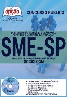 Nova -  Apostila SME SP Professor 2016 PDF e Impressa  #Aprovado Saiba como adquirir a sua http://apostilasdacris.com.br/apostila-sme-sp-professor-2016-pdf-e-impressa/