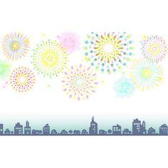 街と花火(背景白パターン)_無料背景イラスト New Year Designs, Mariners Compass, Fireworks, Coloring Pages, Pages To Color, Coloring Books, Coloring Sheets, Colouring Sheets