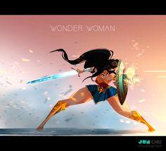 ArtStation - WONDER WOMAN, Jun Chiu