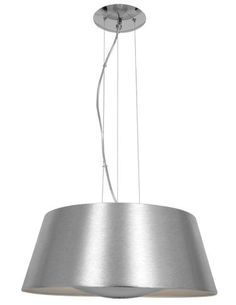 The 19-inch-diameter hand-spun Soho metal pendant with a complementary metal light reflector provides a solution for indirect lighting. Available in three complementary finishes: Brushed Steel, Rice and Gloss White. TM 3939. www.accesslighting.com