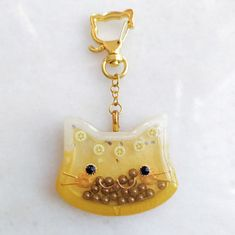 Who loves boba? Boba inspired shaker charm Diy Resin Art, Uv Resin, Cat Lover Gifts, Cat Gifts, Mango Fruit, Rose Gold Nails, Resin Charms, Cute Pins, Harajuku Fashion