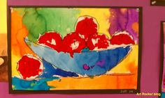 Art Rocks!: 1st grade  apples