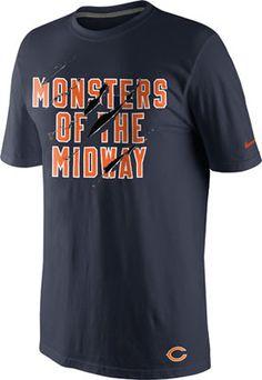 Chicago Bears Navy Nike Local T-Shirt