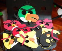 Creating memories thru crafting !!!!!: DIY angry bird mask