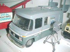 Vintage Toy TV station trucks
