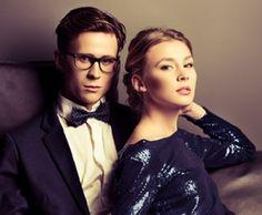 Eleganter Stil, dazu passt super eine schlichte Vollrandbrille #WelcheBrillepasstzumir