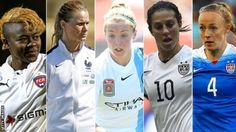 BBC Women's Footballer of the Year: Five vie for award