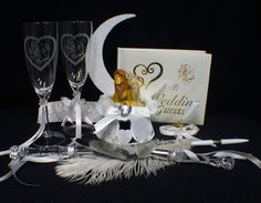 Lion King DISNEY Wedding Cake Topper LOT Glasses by YourCakeTopper, $159.00    This is so worth 160.00