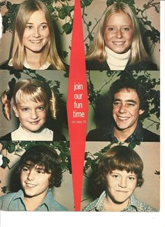 The Brady Bunch...I never liked prissy Marcia much, I always wanted to be tomboy Jan!