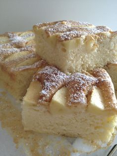 Lady Laura, Sweet Recipes, Vegan Recipes, Apple Cake Recipes, Polish Recipes, Polish Food, Breakfast Menu, Cake Cookies, Delicious Desserts