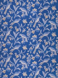 Stroheim Peregrine-Navy Blue by Dana Gibson 4702704 Luxury Decor Fabric