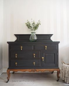 French sideboard painted in ash by fusion mineral paint Repurposed Furniture ash French fusion mineral Paint painted Sideboard Black Furniture, Paint Furniture, Furniture Projects, Furniture Makeover, Living Room Furniture, Home Furniture, Furniture Design, Furniture Stores, Furniture Online