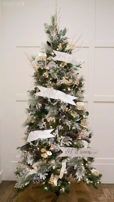 2014 Michaels Dream Tree Challenge – Let it snow | Jenallyson - The Project Girl - Fun Easy Craft Projects including Home Improvement and Decorating - For Women and Moms