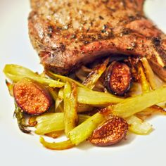 Roasted Figs and Fennel - She cooks, He cleans