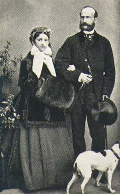 Parents of Prince Henry Maurice of Battenberg (1858–1896) who was the husband of Princess Beatrice Mary Victoria Feodore (1857-1944). Prince Alexander Ludwig Georg Friedrich Emil of Hesse and by Rhine (1823–1888) & wife Countess Julia Julie Therese Salomea von Hauke (1825-1895).