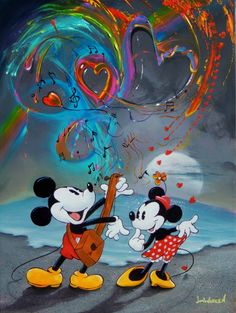 Mickey's Love Song by Jim Warren