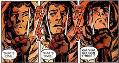 Marvel Graphic Novel #5 - The good ole third claw bit.