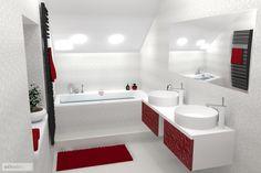 i pod střechu se vleze hezká designová koupelna
