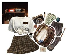 """""""frances"""" by berniee ❤ liked on Polyvore featuring Dr. Martens and Floyd"""