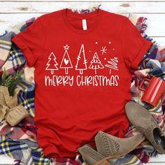 Christmas Long Sleeve Shirts, Cute Christmas Shirts, Fall Shirts, Christmas Sweaters, Xmas Shirts, Cute T Shirts, Christmas Outfits For Women, Christmas Hoodie, Christmas Clothes