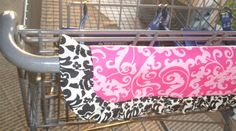 Buggywrap- comfort, stylish, and protective shopping cart handle cover. Easy to store in your car or handbag. Don't shop without it! on Etsy, $35.00