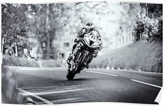 Michael Dunlop Motor INSPIRATIONAL MOTIVATIONAL QUOTE WALL POSTER PRINT #33