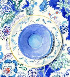 Still Life Kitchen Decor of Original by FloraArtPrintShop on Etsy, $25.00