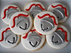 .Oh Sugar Events: Polar Express...Silver Christmas bells decorated iced sugar cookies  #cookieart