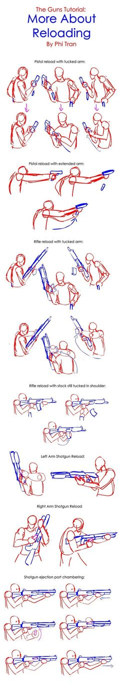 The Guns Mini-Tutorial: More About Reloading by PhiTuS.deviantart... on @DeviantArt: