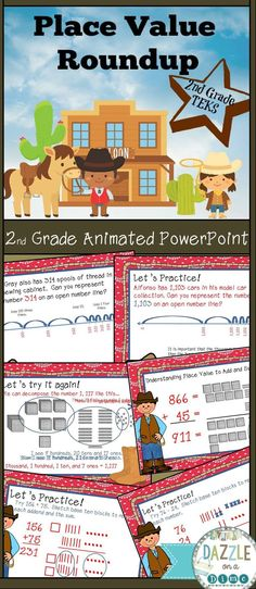 Grade Place Value TEKS PowerPoint Number lines, decomposing, comparing… Open Number Line, Number Lines, Elementary Math, Upper Elementary, Teaching Strategies, Teaching Resources, Teacher Evaluation, Texas Teacher, Math Stem